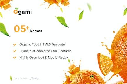Ogami - Multipurpose Organic Store & Bakery HTML