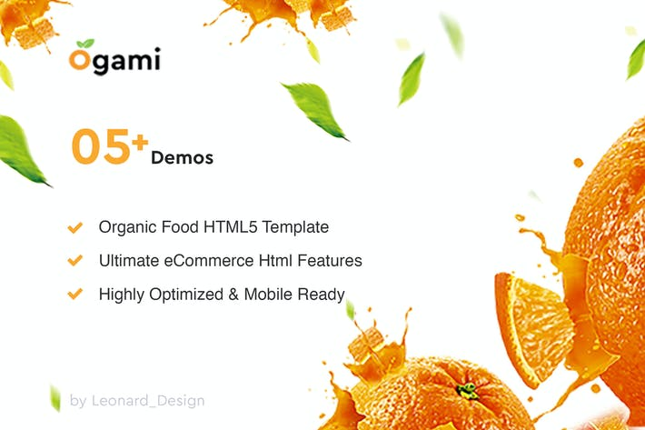 Thumbnail for Ogami - Multipurpose Organic Store & Bakery HTML