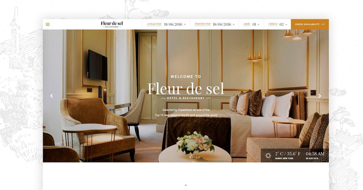 Download Fleurdesel - Hotel Booking WordPress Theme by awethemes