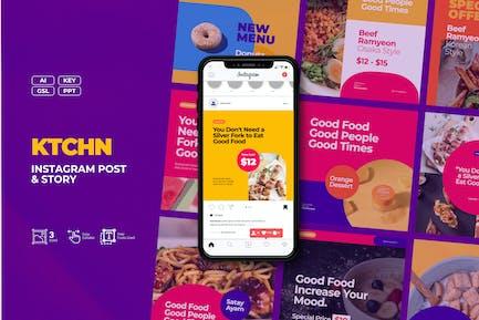 KTCHN - Food and Beverages Business Instagram Post