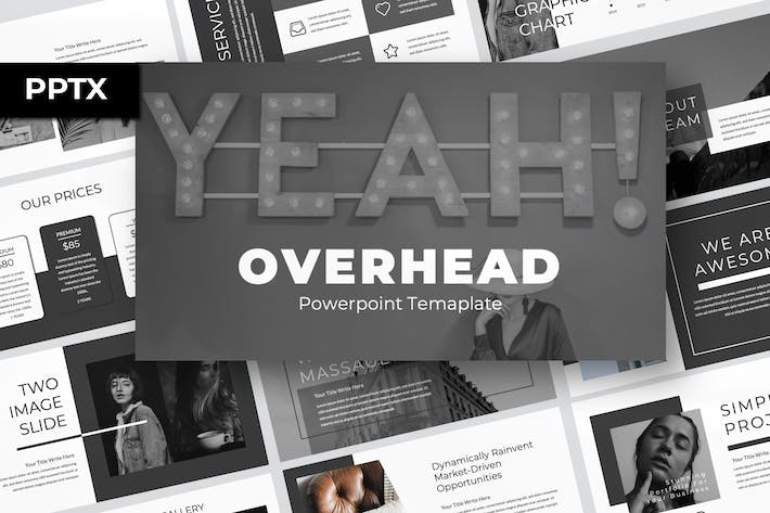Thumbnail for Overhead Presentation Template