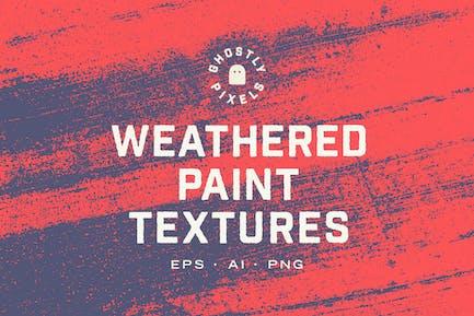 Verwitterte Farben Texturen