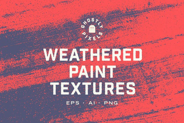 Weathered Paint Textures
