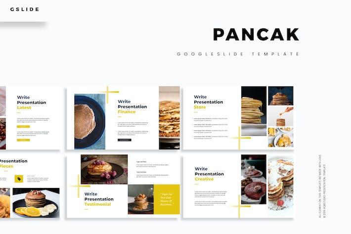 Cover Image For Pancak - Google Slides Template