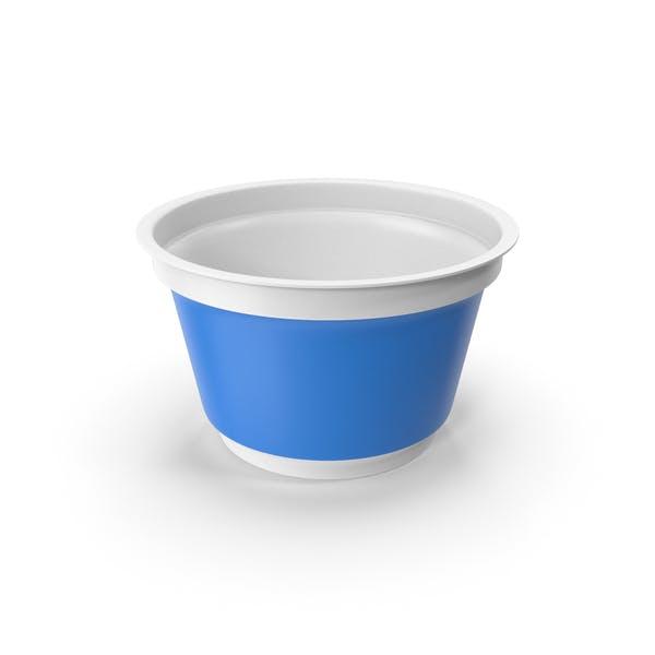 Чашка сметаны пустая