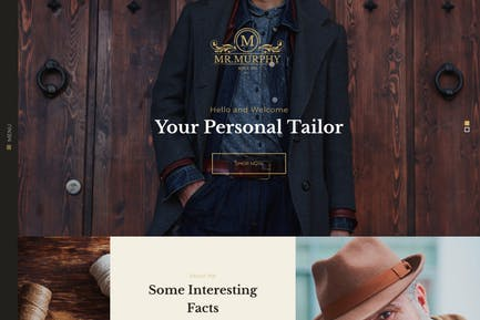 Mr. Murphy - Custom Dress Tailoring Clothing WP