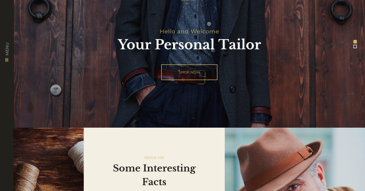 Download Mr. Murphy - Custom Dress Tailoring Clothing WP by AncoraThemes