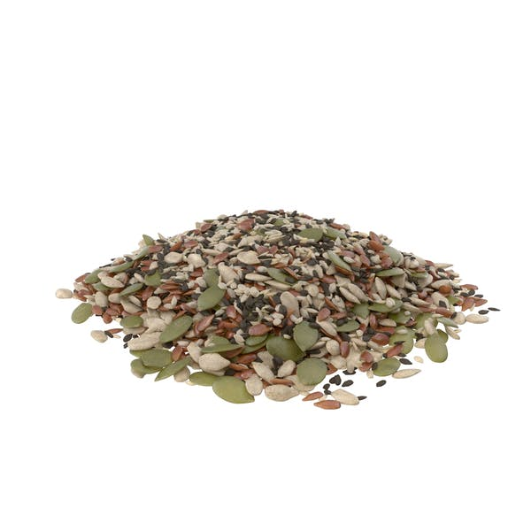 Pile of Mixed Healthy Seeds