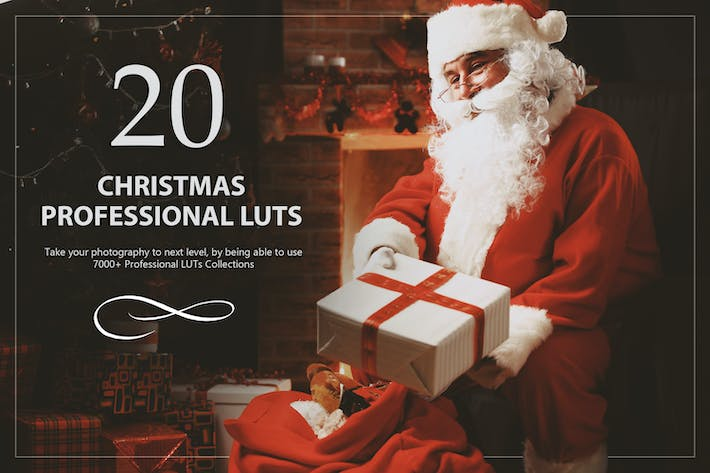Thumbnail for 20 Christmas LUTs Pack