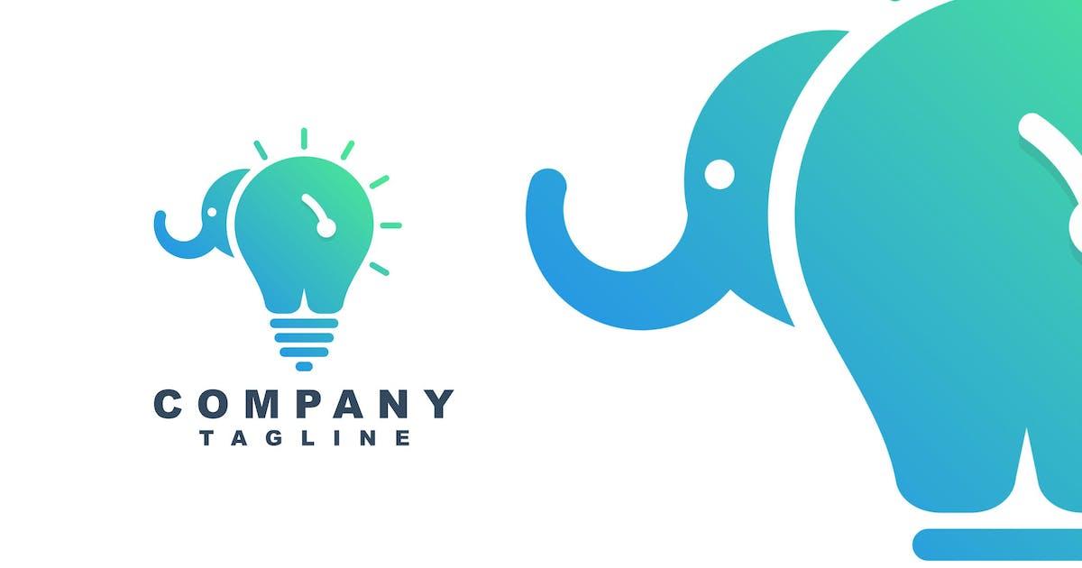 Download elephant & bulb by artism_studio