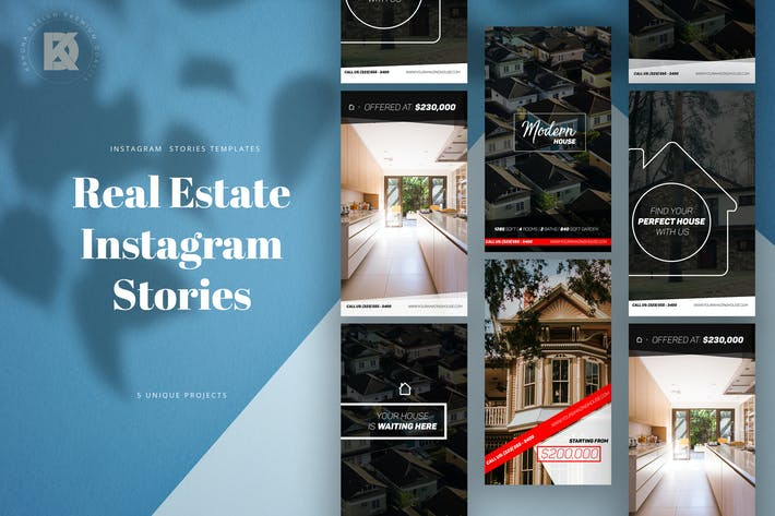 Thumbnail for Real Estate Instagram Stories