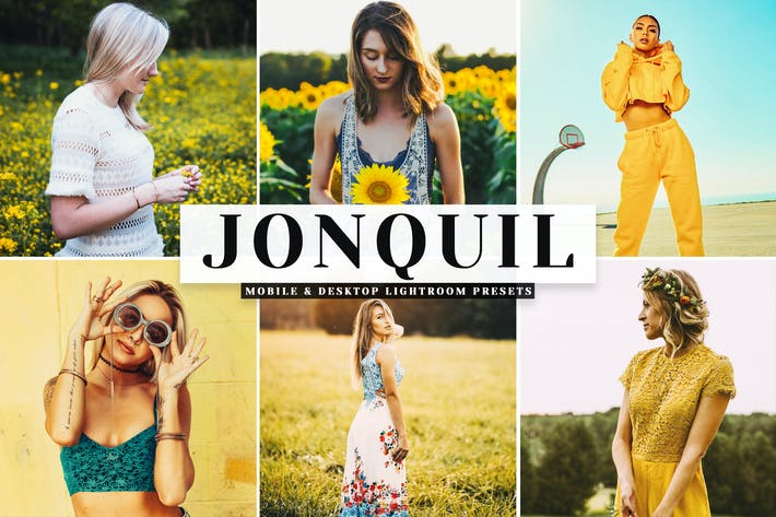 Thumbnail for Jonquil Mobile & Desktop Lightroom Presets