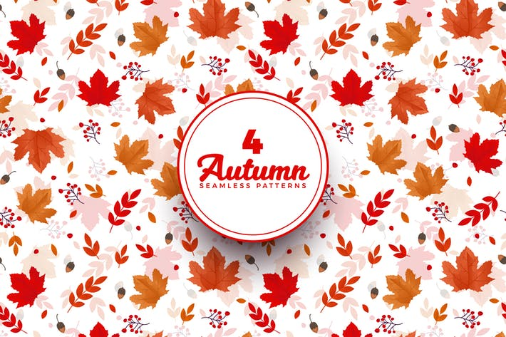 Thumbnail for Autumn Pattern Backgrounds