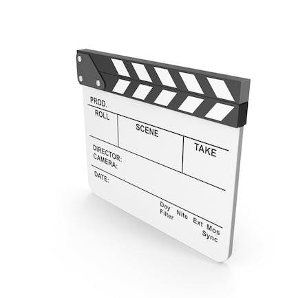 White Film Clapboard