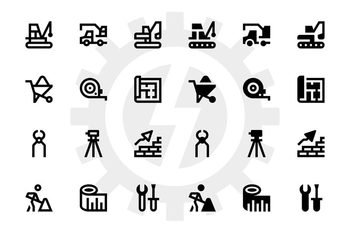 Thumbnail for Construction icons