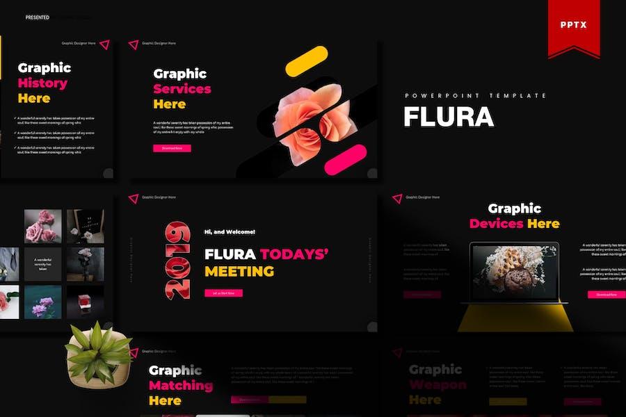 Flura | Powerpoint Template