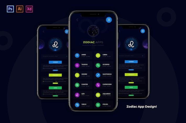 Zodiac App Design