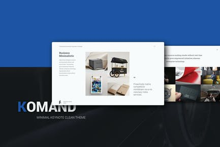 KOMAND - Google Slides Presentation Template