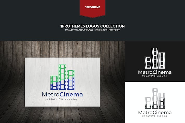 Thumbnail for Metro Cinema Logo Template