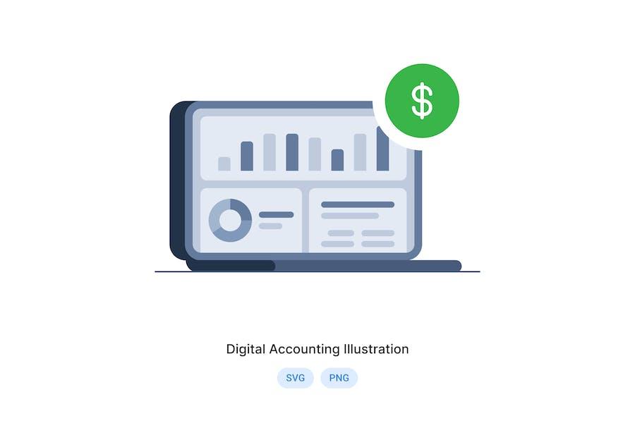 Abbildung der digitalen Buchhaltung