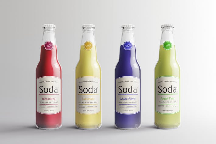 Thumbnail for Soda Drink Bottle Packaging Mock-Ups Vol.1
