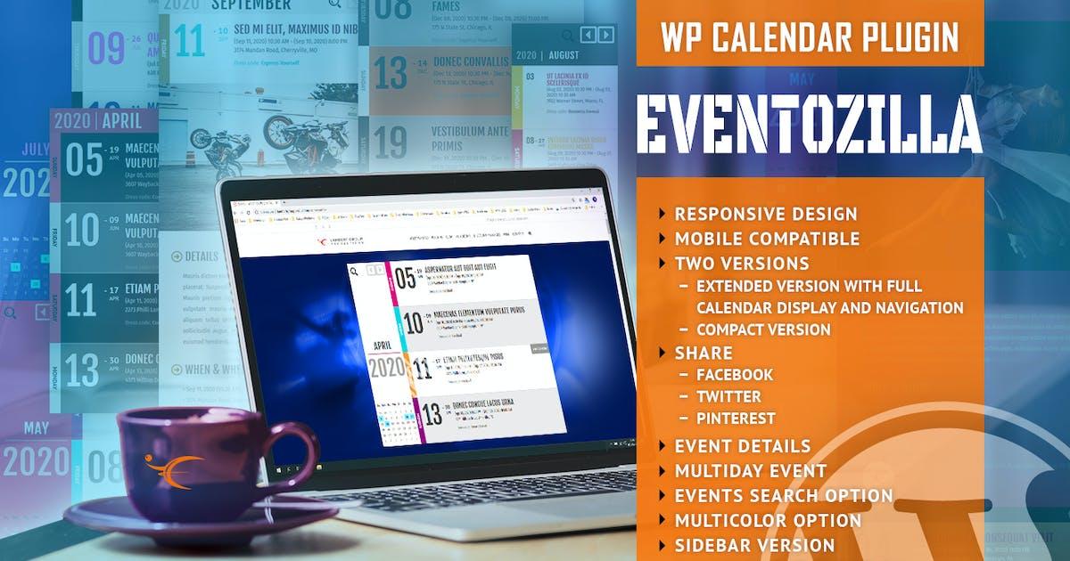 Download EventoZilla - Event Calendar WordPress Plugin by LambertGroup