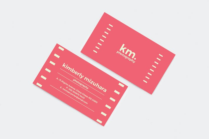 Thumbnail for Professional and Creative Business Card 08