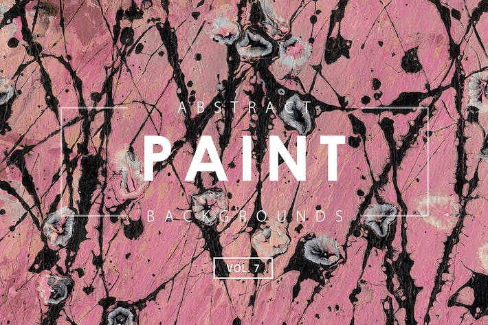 Thumbnail for Abstract Paint Backgrounds Vol. 7