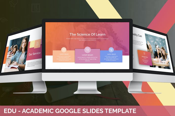 Thumbnail for Edu - Academic Google Slides Template
