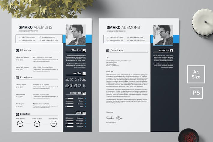 Thumbnail for Resume Template 42