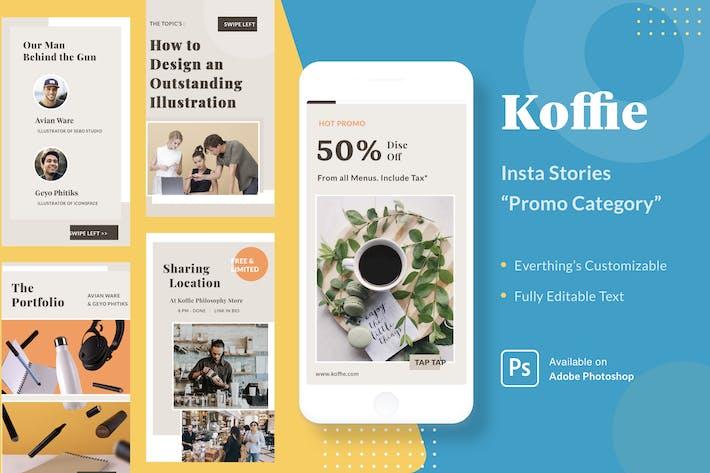 Koffie Insta Stories - Promo