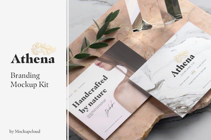 Thumbnail for Athena Branding Mockup
