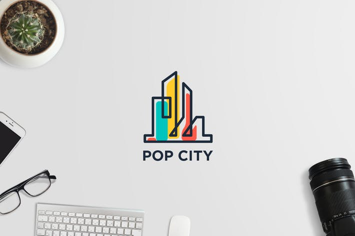 Thumbnail for Pop City Logo