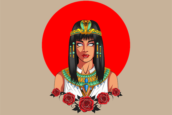 Thumbnail for Cleopatra - Vector Illustration