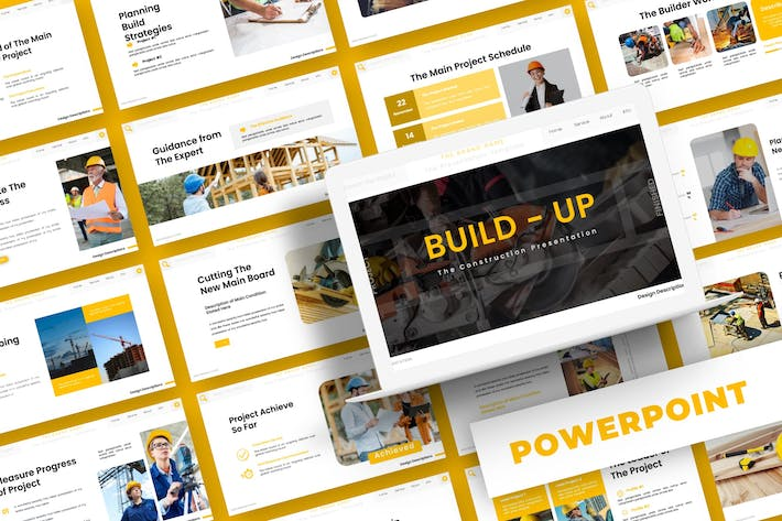 Thumbnail for Build-Up - Powerpoint Template