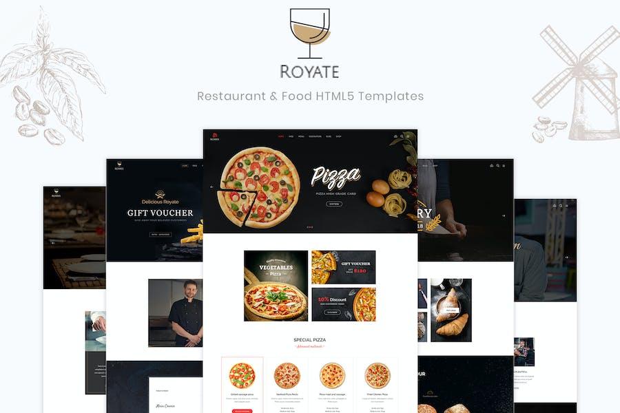 Royate   Restaurant HTML5 Template