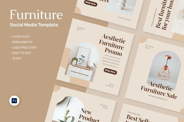 Vietta - Furniture Sale Instagram Template