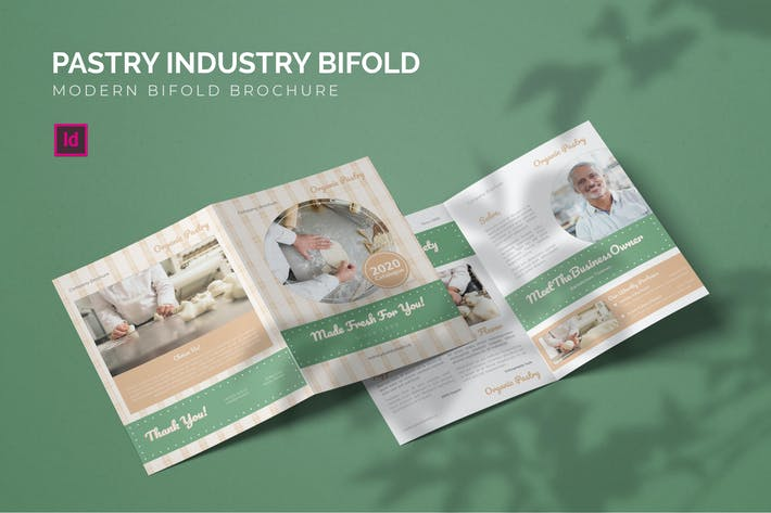Thumbnail for Pastry Industry - Bifold Brochure