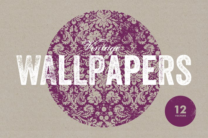 Thumbnail for Vintage Wallpaper Textures