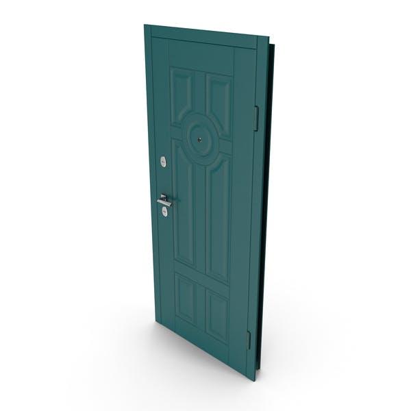Entrance Door Green