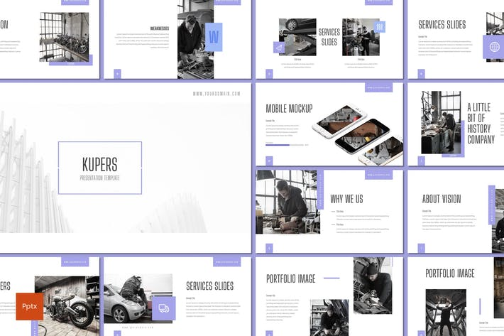 Thumbnail for Kupers - Powerpoint Template
