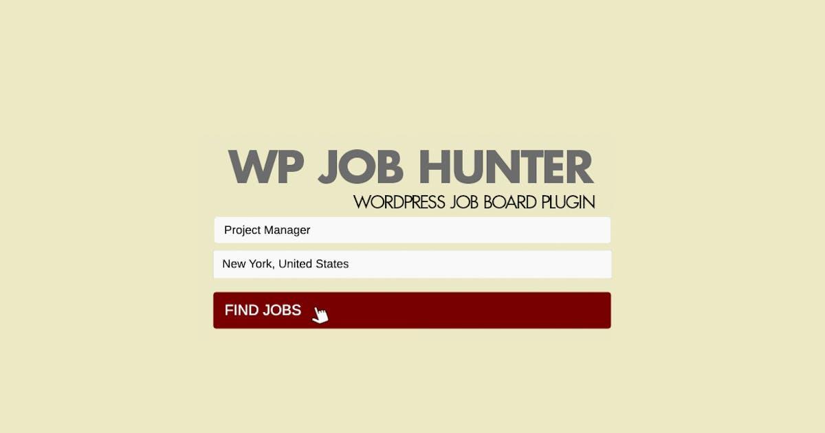 Download WP Job Hunter - WordPress Job Board Plugin by pantherius