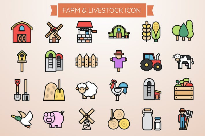 Thumbnail for Farm & Livestock Icon