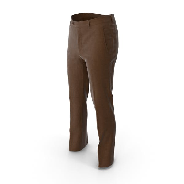 Мужские брюки Коричневый