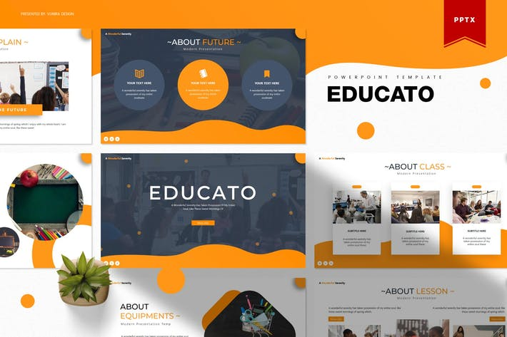 Thumbnail for Educato | Powerpoint Template