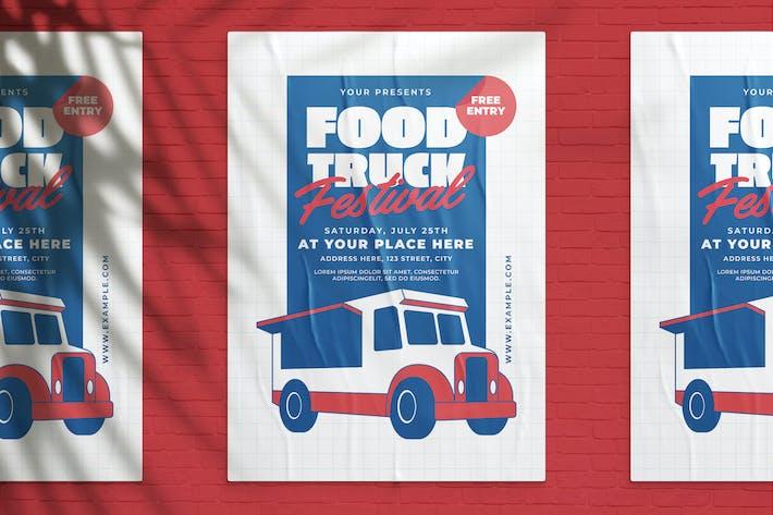 Thumbnail for Food Truck Festival Flyer