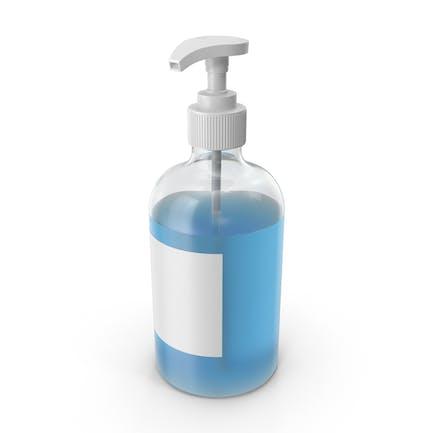 Botella de jabón líquido