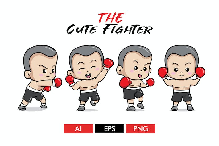 Thumbnail for The Cute Fighter