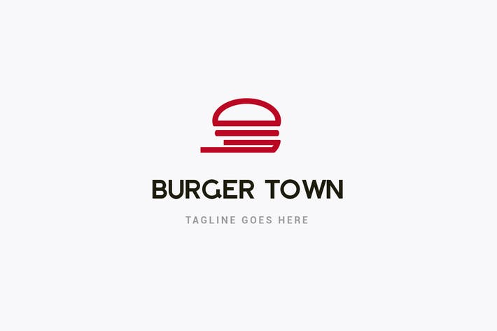 Thumbnail for Burger Restaurant Logo