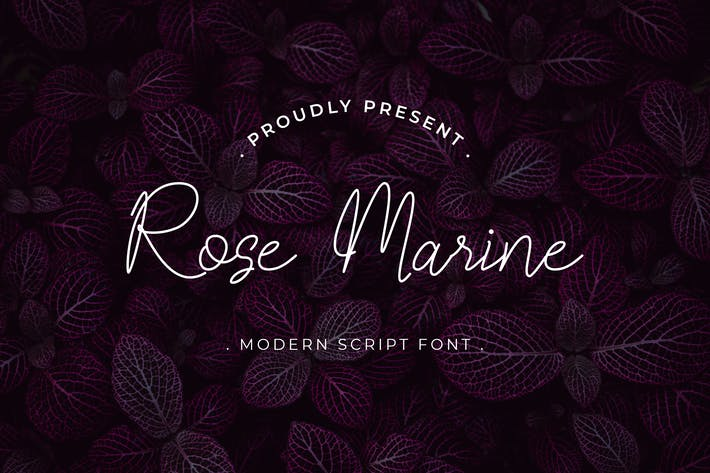Thumbnail for Rose Marine Handwritten Script